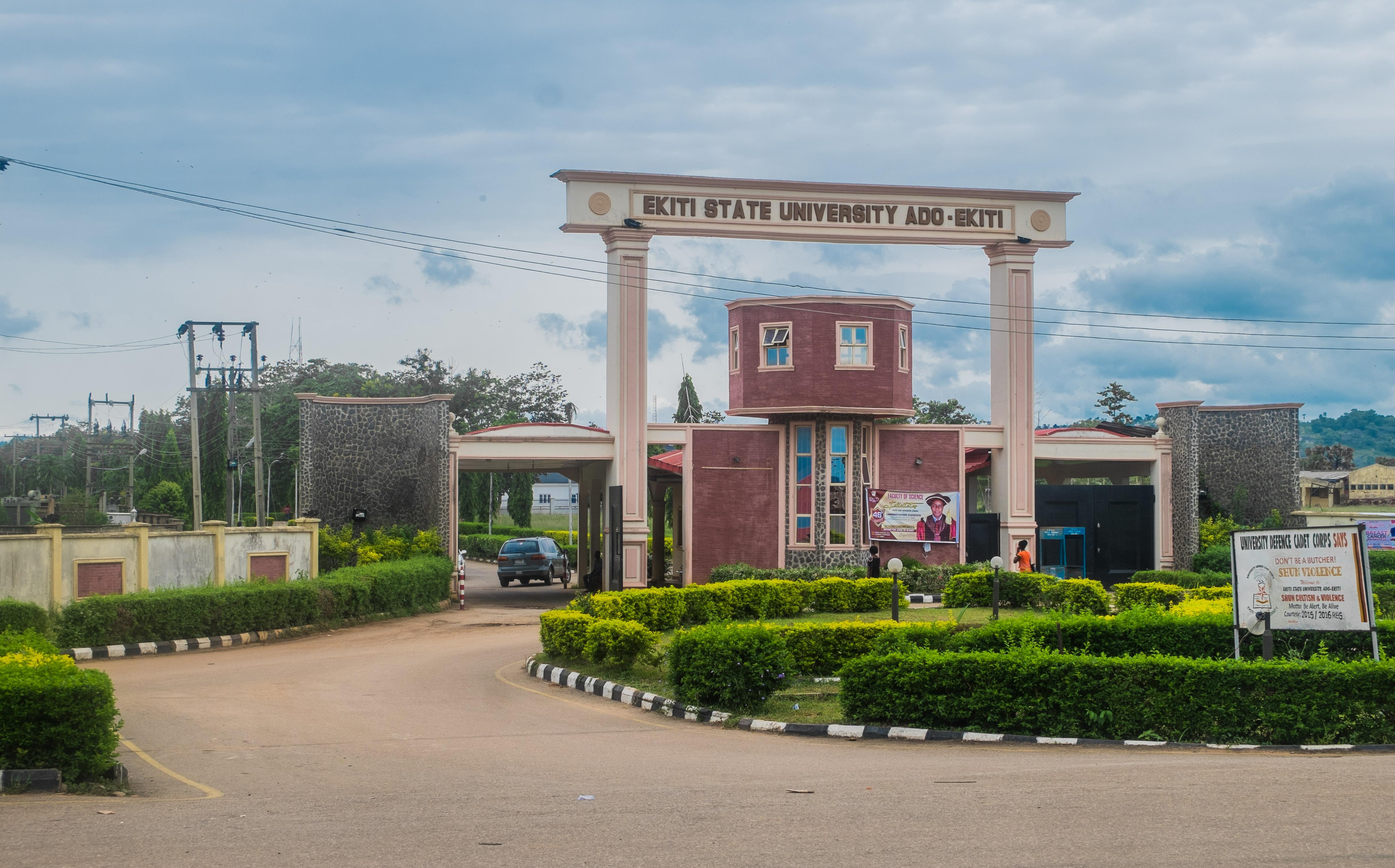 Main Entrance, EKSU. Photo: Punch